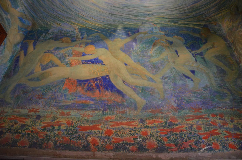 La Villa Juturne et ses magnifiques fresques, ouverte par la petite-fille de son créateur.