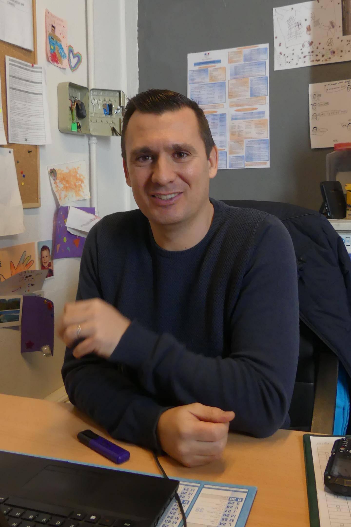 Yoann Falconetti propose des activités très variés aux jeunes de l'Odelvar accueillis pendant les vacances.