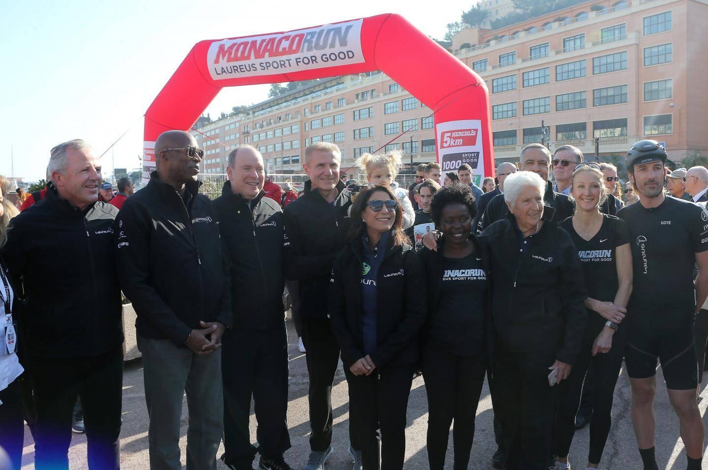Course phare de la « Monaco Run », l'épreuve des cinq kilomètres a rassemblé de nombreux sprinteurs hier.