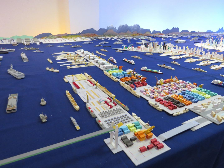 Bernard Lidove, président de l'association organisatrice, est très satisfait du succès de l'exposition.