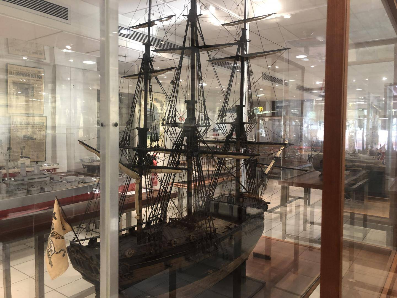Un des nombreux bateaux pirates.