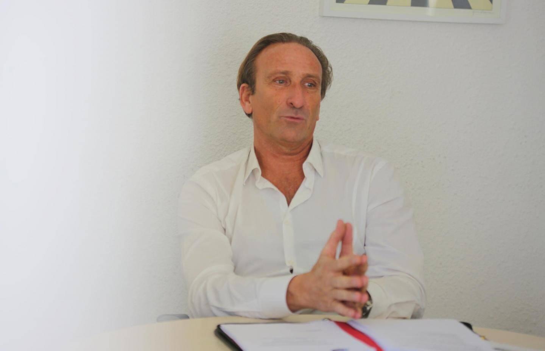 Didier Jammes, directeur des Urgences de Fréjus.
