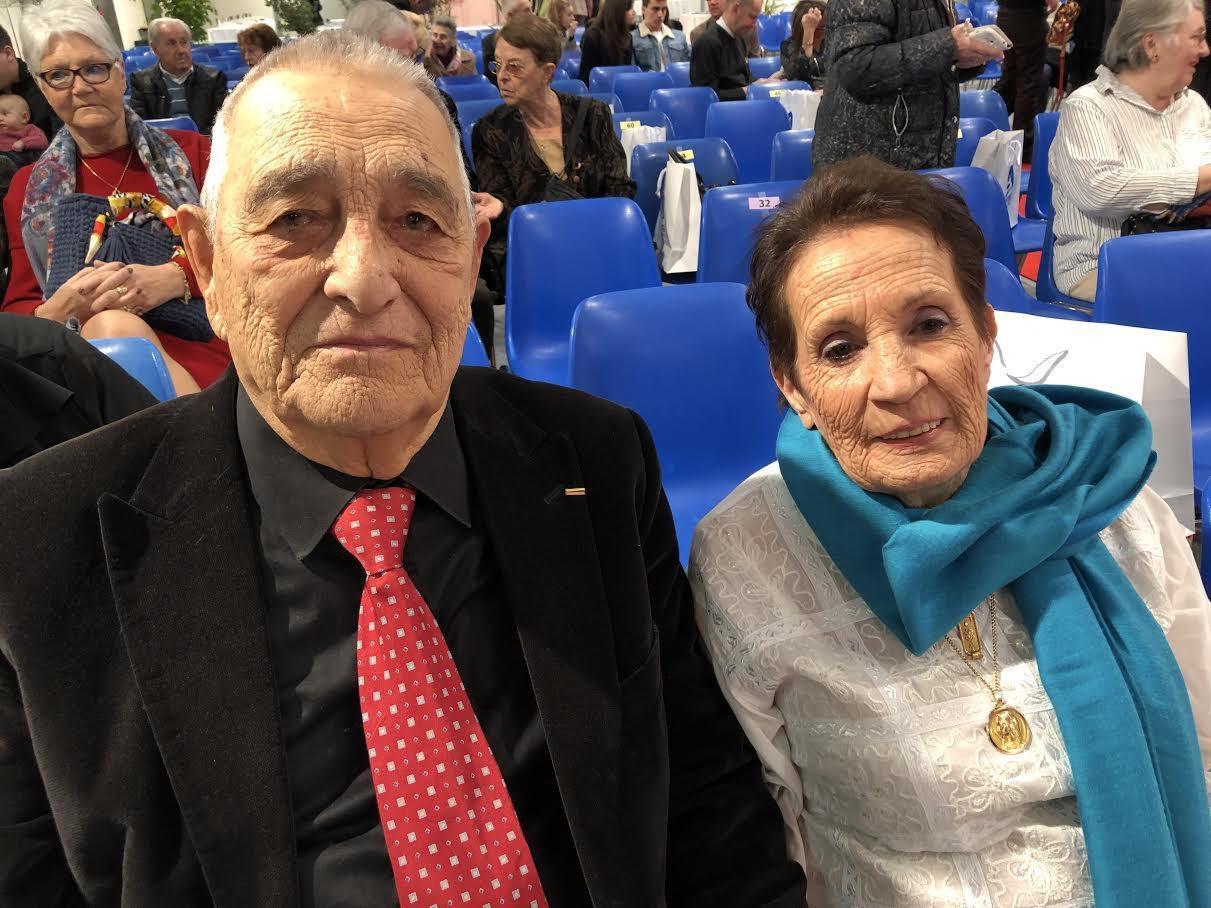 Paul et Jacqueline Bestozo.