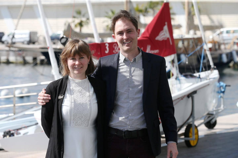 Sophie Galvagnon et Yann Lebellec, tous deux confondateurs de Latitude blanche.