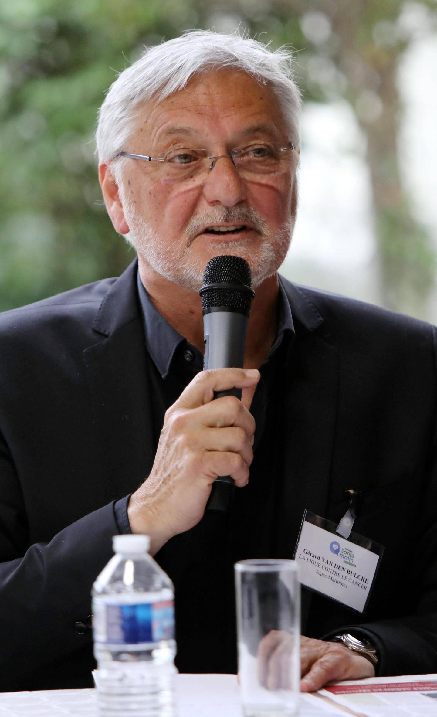 Gérard Van Den Bulcke, Ligue contre le cancer 06