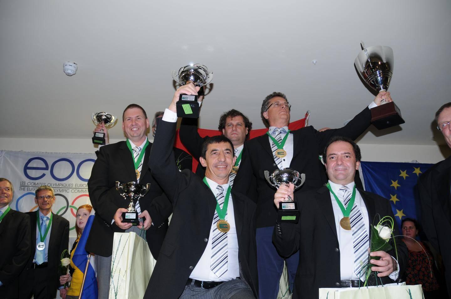 Monaco devient champion d'Europe de bridge en 2012, à Dublin.