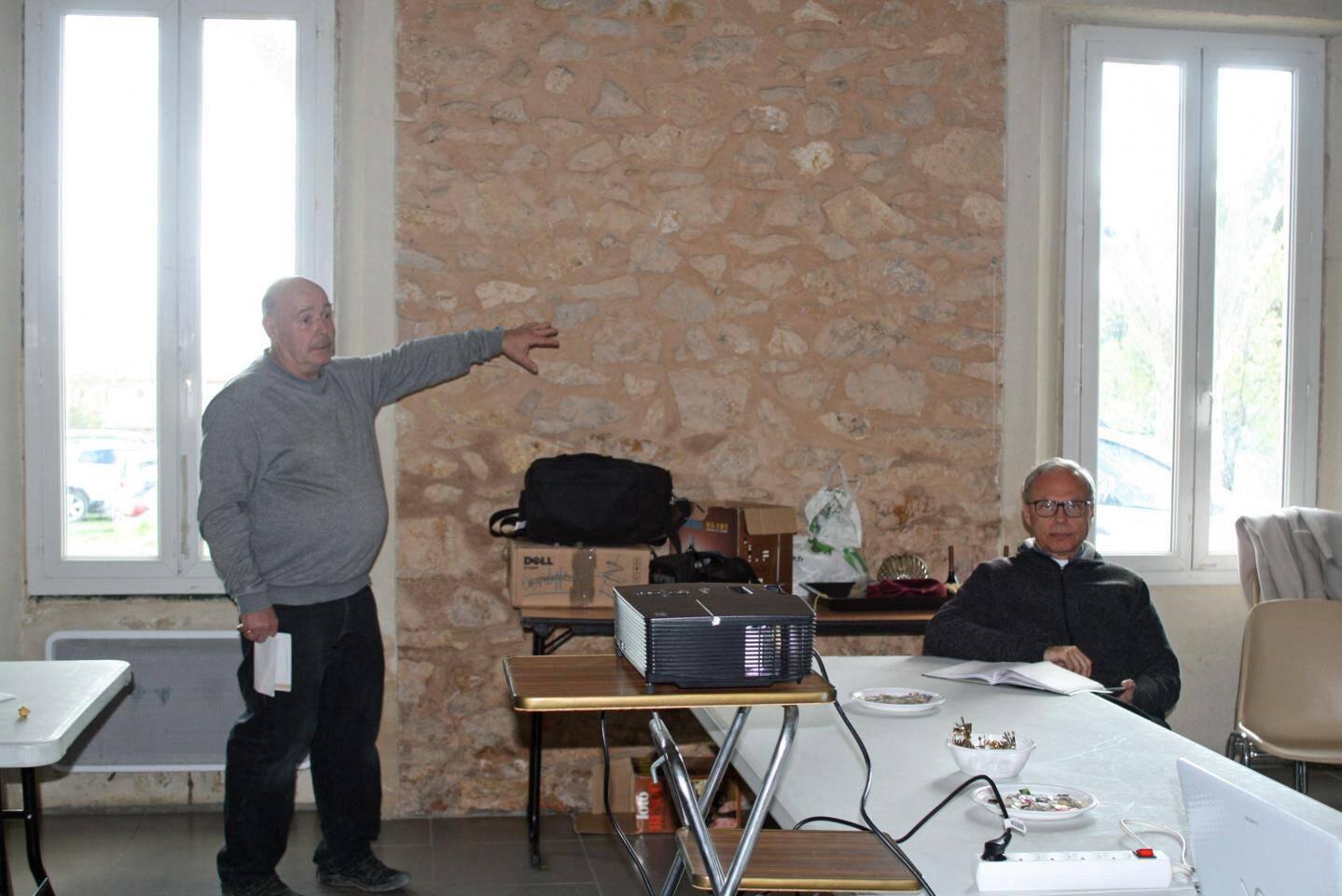 Jean-Jacques Barbez et son vice-président le père Krzyszto.