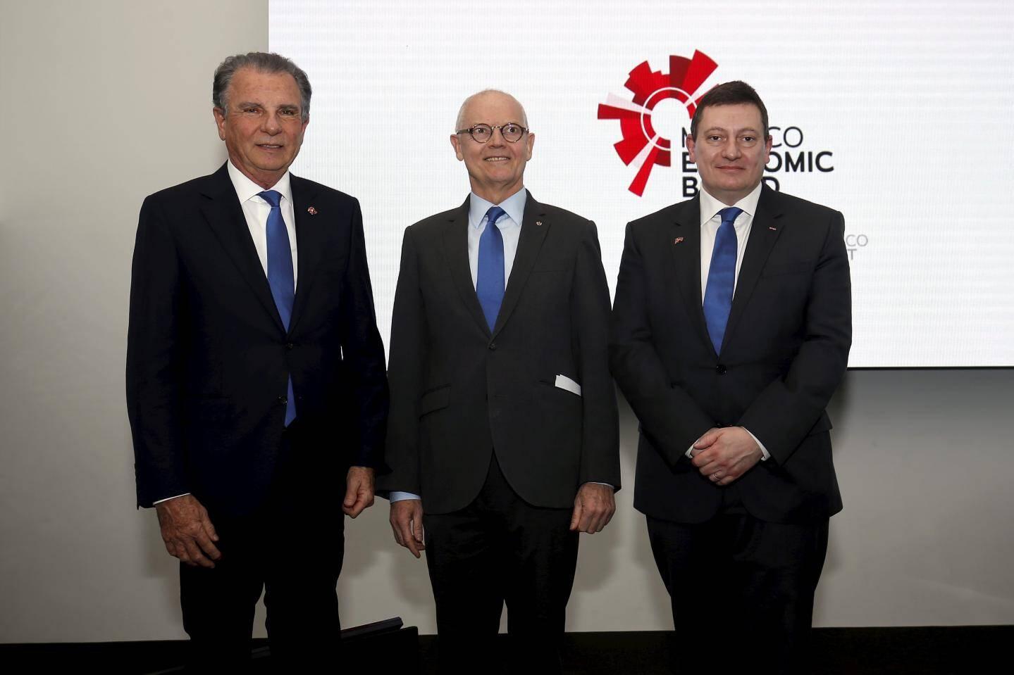 Autour du ministre d'État, jeudi, Michel Dotta et Guillaume Rose se sont retrouvés pour marquer une nouvelle ère au sein du MEB.