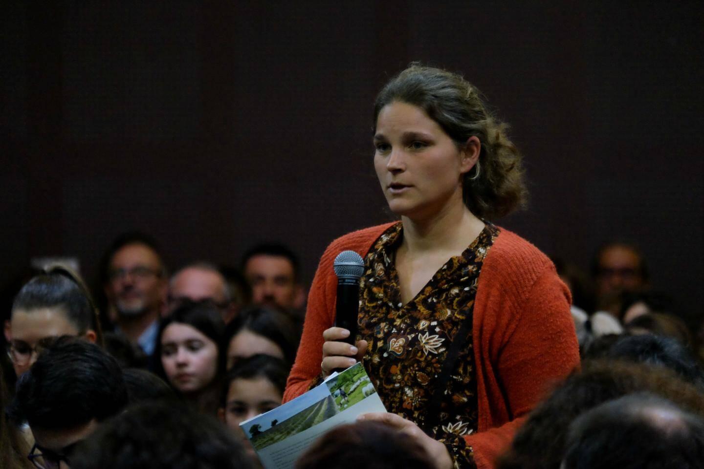 """Blandine Arcusa, présidente d'AgribioVar, demande """"quels moyens financiers seront mis à disposition des agriculteurs pour pérenniser les fermes bio""""."""