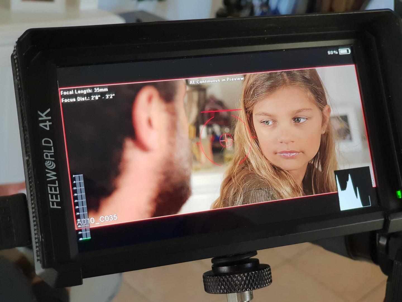 Pour l'une des scènes fortes du film, la jeune tropézienne Clémentine, a impressionné le réalisateur.