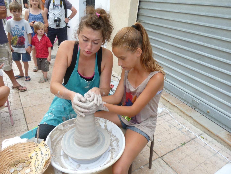 Partout des ateliers ouverts dans la ville à l'occasion des Journées Européennes des Métiers d'art.