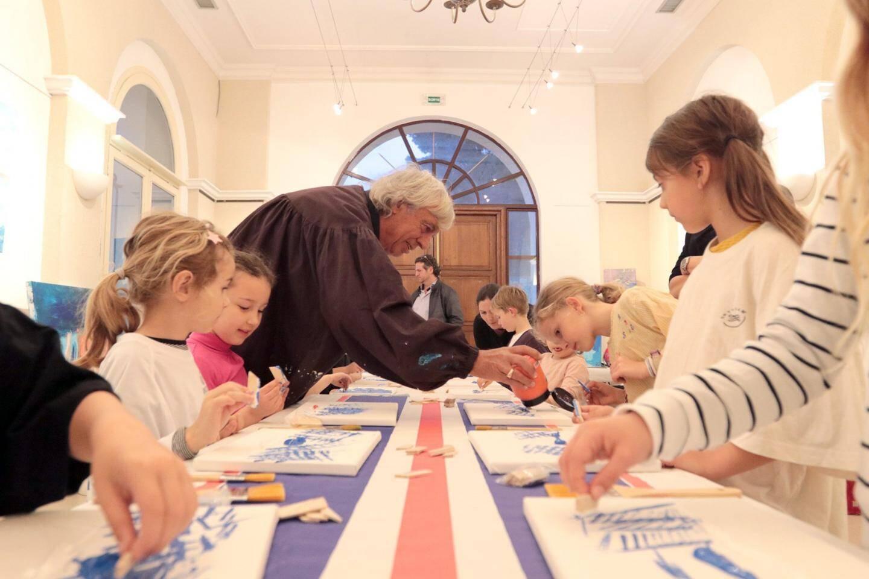Le musée Léger propose de nombreux ateliers enfants-familles dimanche.