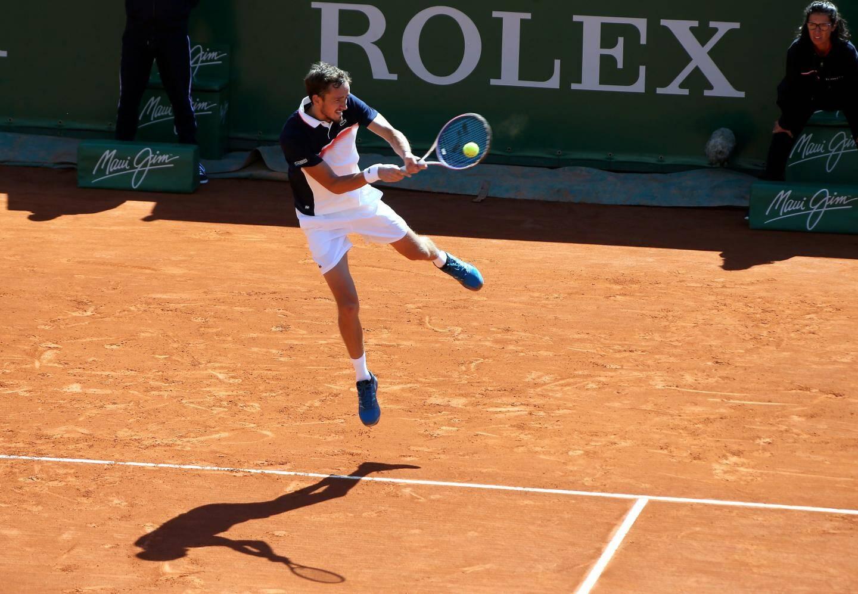 Les frères Djokovic en plein boulot : Novak et Marko, engagés en double hier, se sont fait sortir par la paire de Colombiens Cabal-Farah, 6-1, 6-3 !