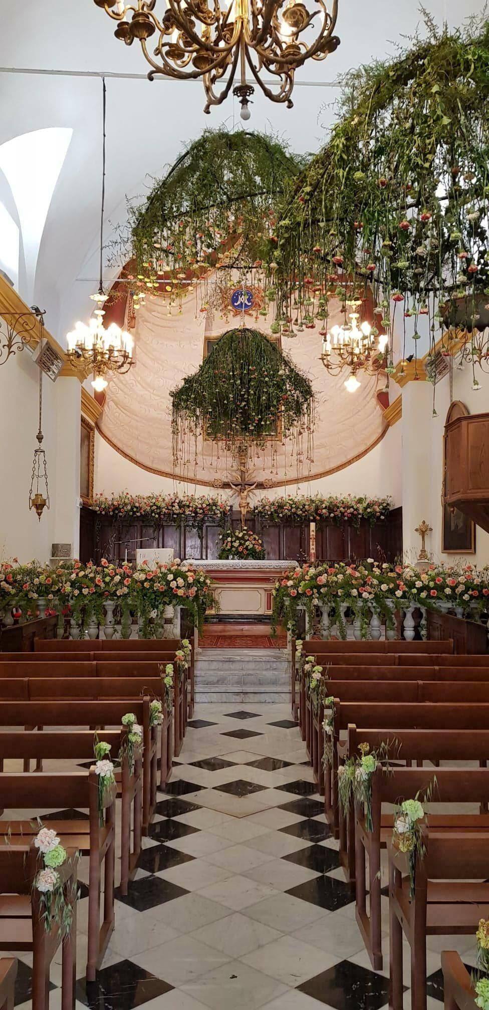 L'église du village transformée le temps d'un week-end.
