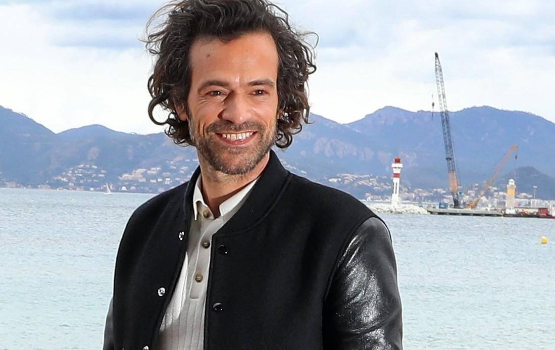 Romain Duris à CannesSéries.