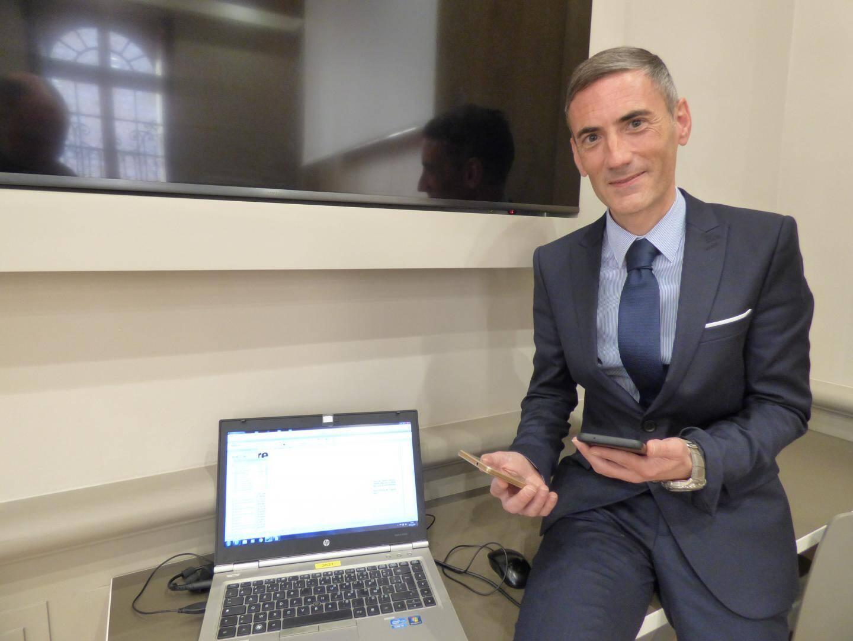 Le docteur Nicolas-Marie Delrue, psychologue clinicien à Cap-d'Ail, qui a animé à Vence la conférence sur l'addiction aux écrans.