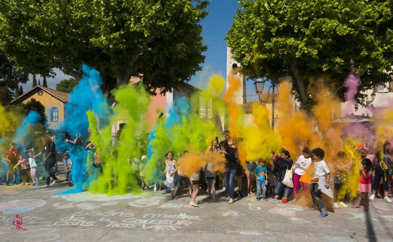Explosion de couleurs avec le Festival « Craie ce qu'il te plaît » initié par Jérémy Besset et Unwhite it, le 22 juin, toute la journée.(DR)
