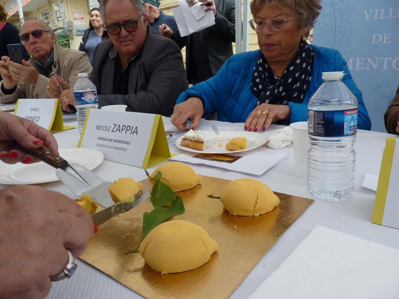 Avec ses tartes en formes de citrons, Olfa Ben Salah a remporté l'épreuve de la tarte la plus originale.
