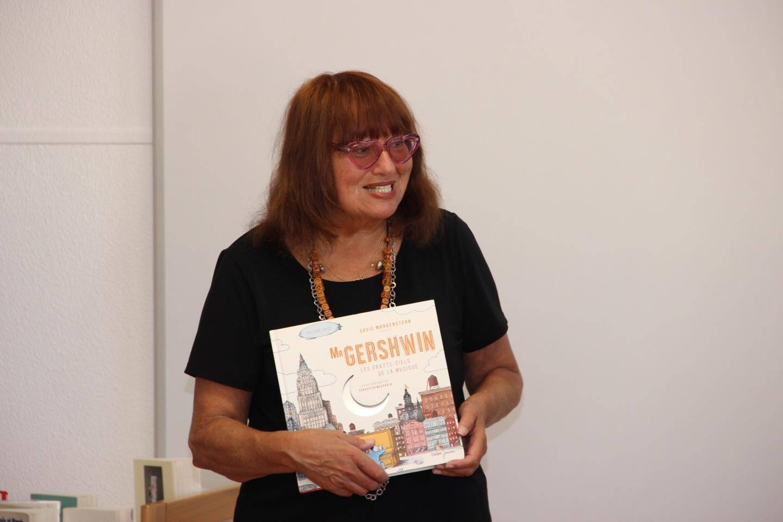 Susie Morgenstern : « J'espère revenir encore longtemps fêter les livres à Beausoleil ! »