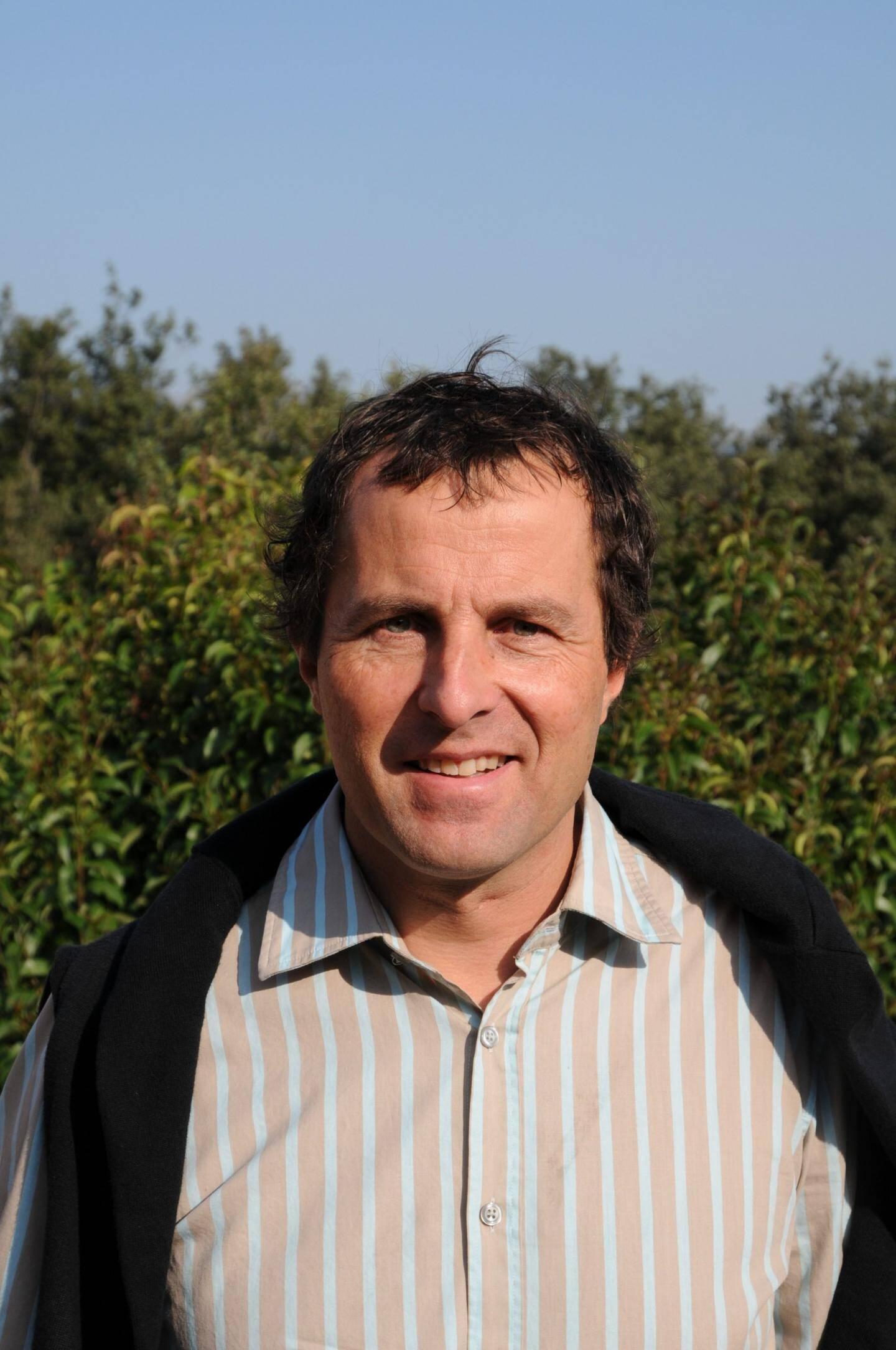 Pascal Torrelli, président de l'Association de sauvegarde de l'environnement de Biot.