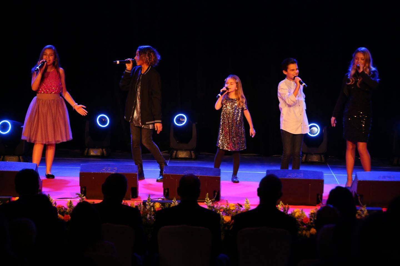 La nouvelle génération des Kids united était à Monaco en novembre.