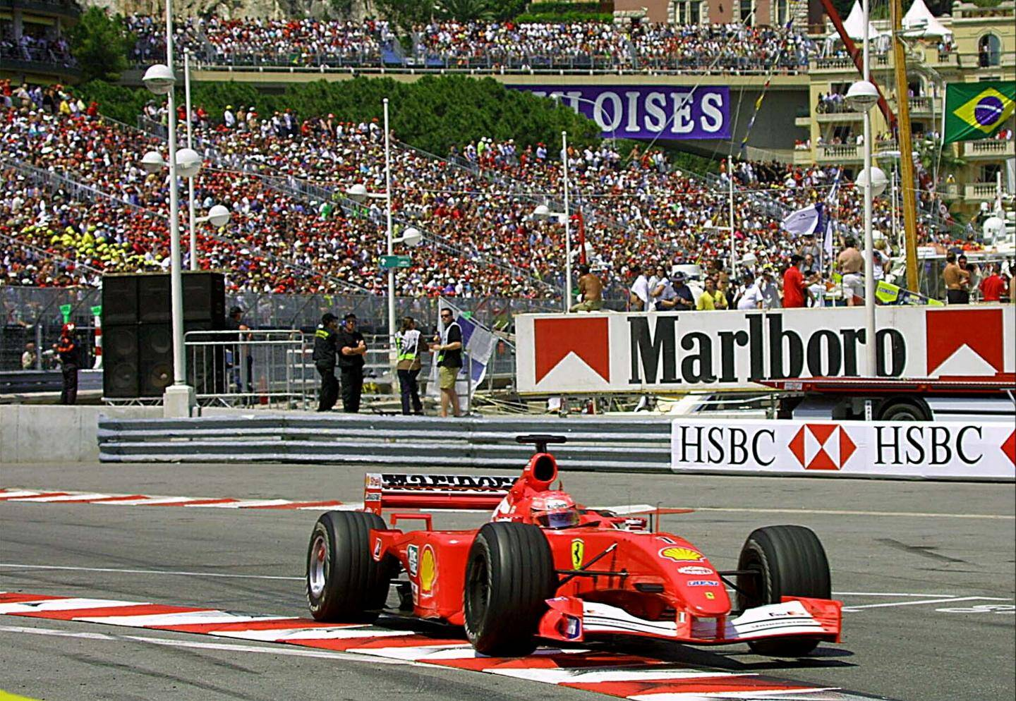 Michael Schumacher en 2001.