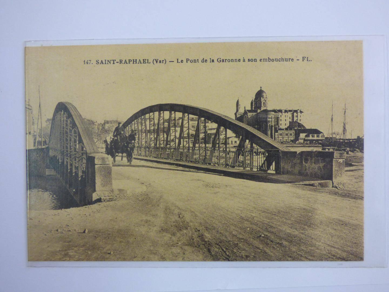 « Le pont de la Garonne à son embouchure ».