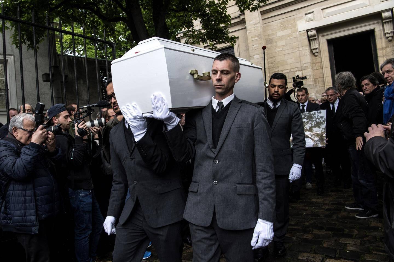 Le cercueil de Dick Rivers