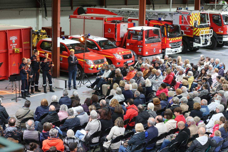 Menton le 05/05/2019 - Concert en terre insolite à la Caserne des Sapeurs Pompiers de Menton - Papier : A.Rousselot