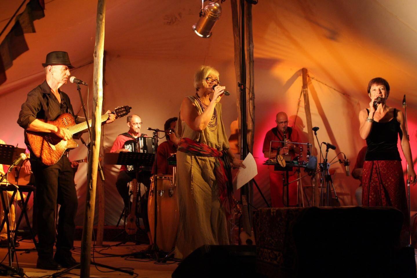 Le groupe Gadal Barouf et ses musiques du monde.(DR)