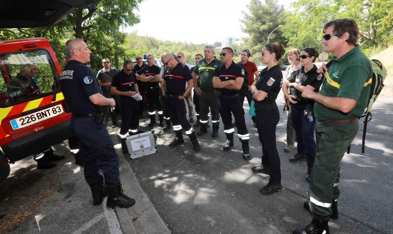 Des stages sur la recherche des causes d'incendie de forêt se déroulent actuellement à Hyères et dans les zones sinistrées aux alentours.