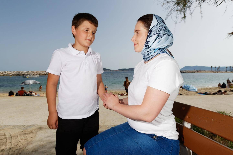 Diana et sa famille sont en demande d'asile en France.