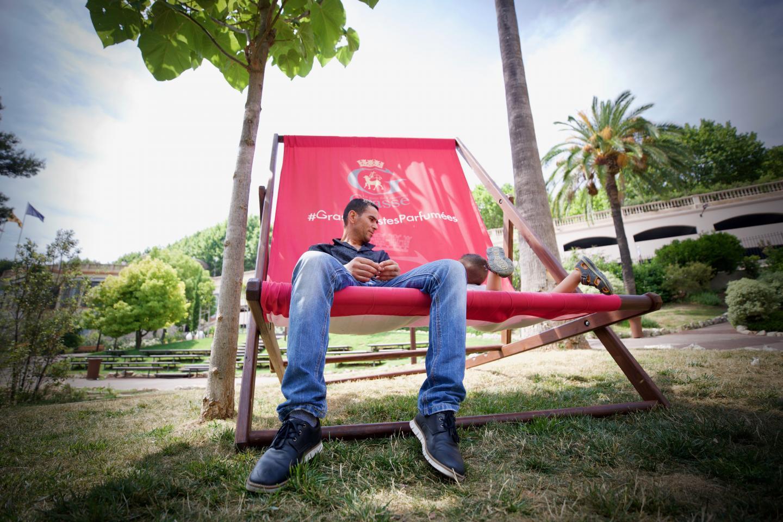 Ci-dessus : les brumisateurs place du 24-Août.   Ci-dessous : la « chilienne » géante du Jardin des Plantes est la «star» des touristes en mal de photos souvenirs !