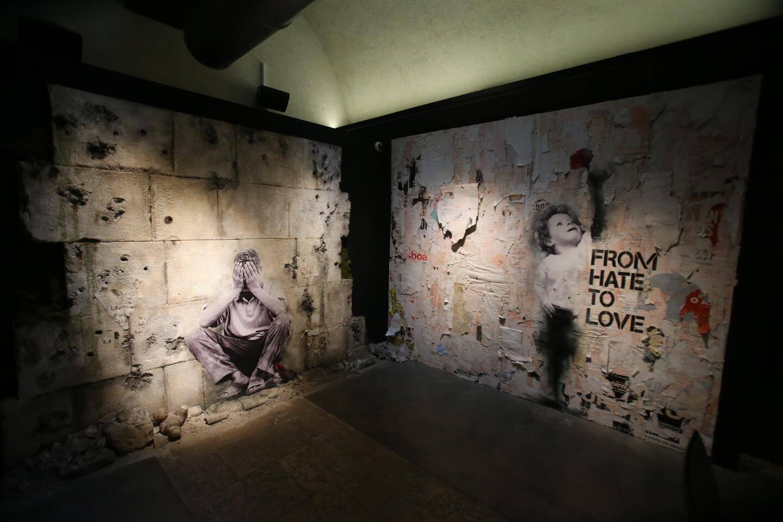 La Liberté dévoilée de Gérard Rancinan, œuvre phare de l'exposition Liberté, liberté chérie.