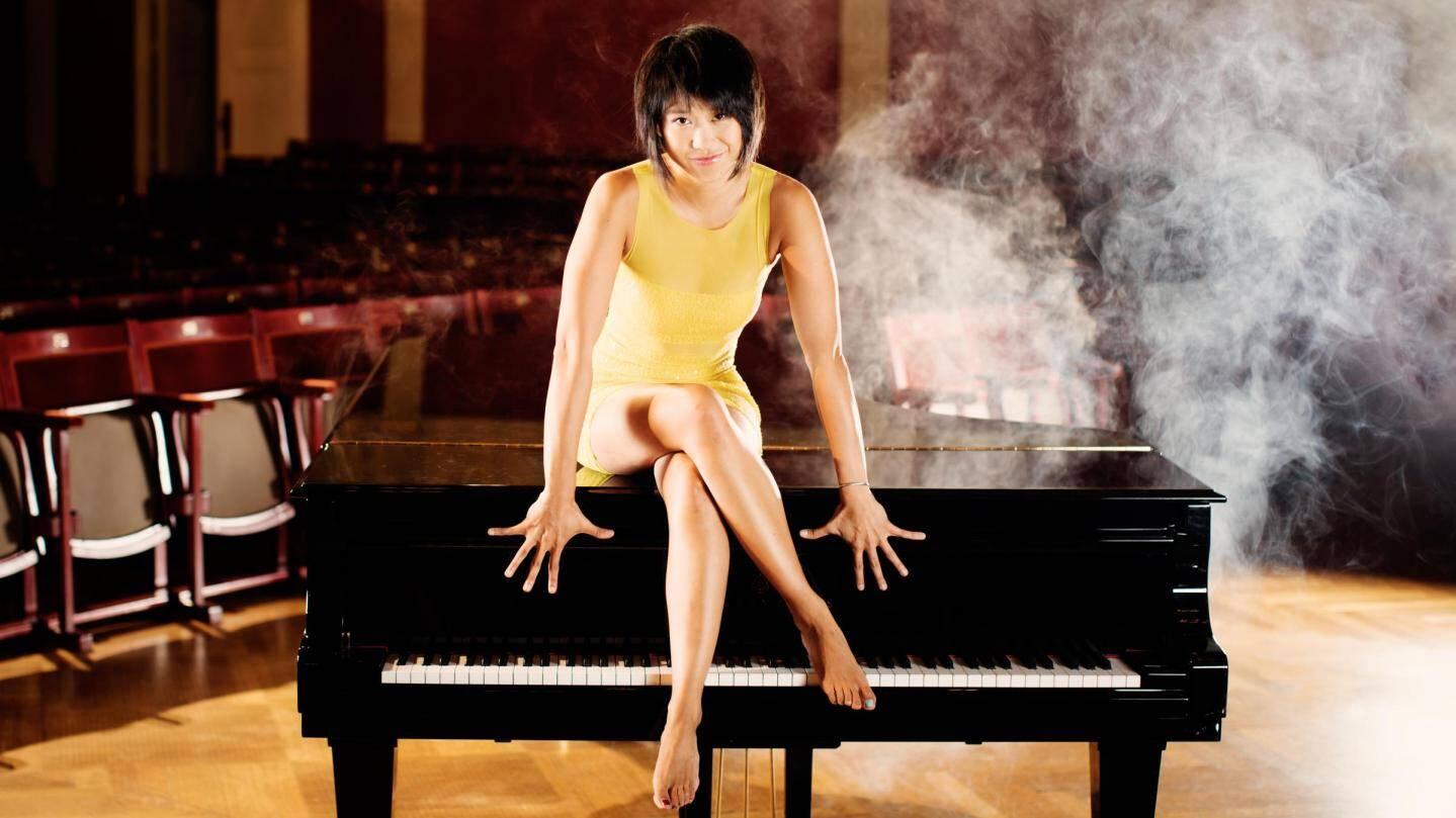Une photo officielle plutôt inhabituelle dans le monde de la musique classique.(DR)