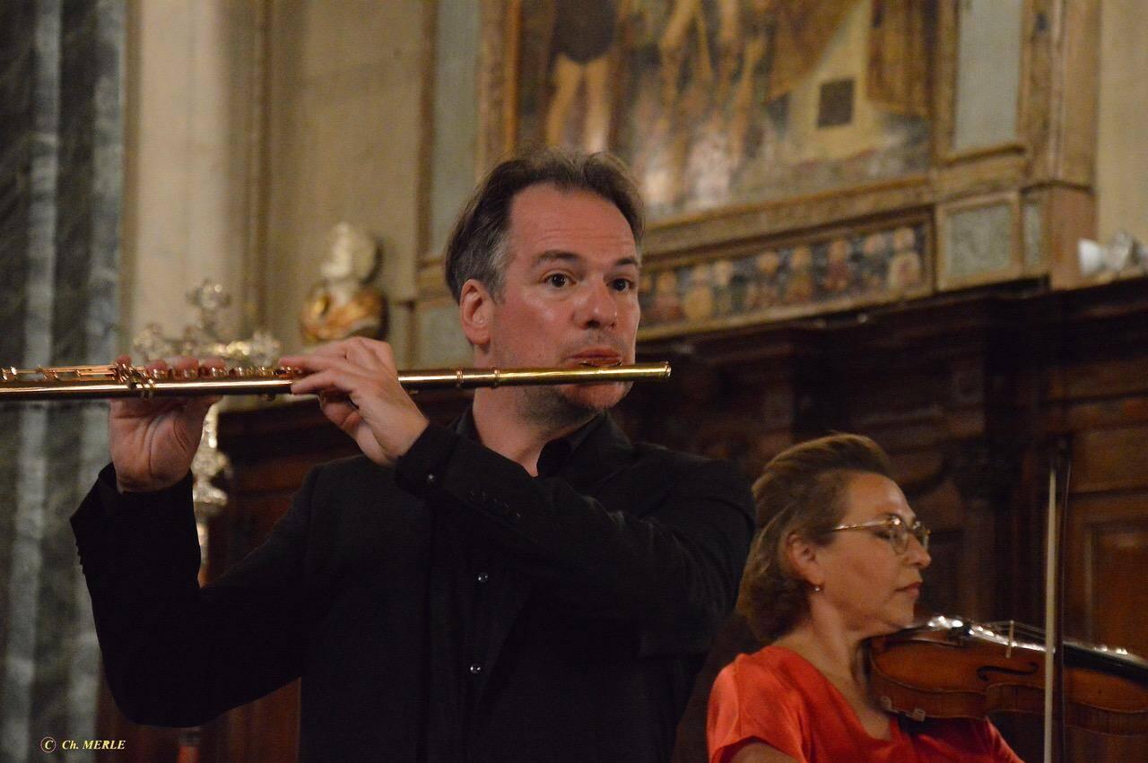 Le flûtiste Emmanuel Pahud a émerveillé le public par la beauté de son jeu.
