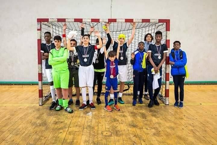 Le Futsal de Gérard-Philipe, vice-champion de France.