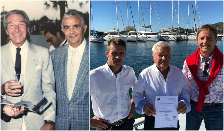 Le 11 août 1989, Camille Rayon et Pierre Donnet inauguraient le port. Trente ans après le président Pierre Rayon entouré de Patrick Lara (directeur-adjoint) et Alex Joskowitcz (maître de port) ont repris avec Olivia Lara-Rayon (directrice absente de la photo) le flambeau.