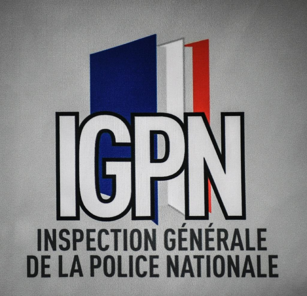 Le logo de l'Inspection Générale de la Police Nationale le 13 juin 2019