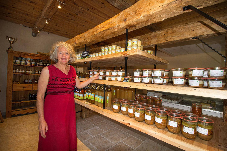 La salle de vente de la production est le domaine de Fabienne Varrone.