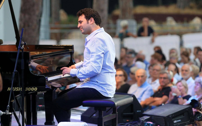 Le pianiste israëlien Omri Mor.