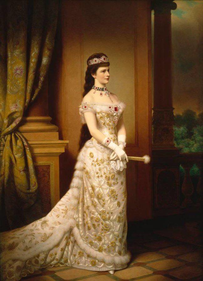 L'impératrice Sissi dans toute sa splendeur en 1879.