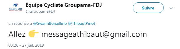 Adressez-vous à Thibaut Pinot