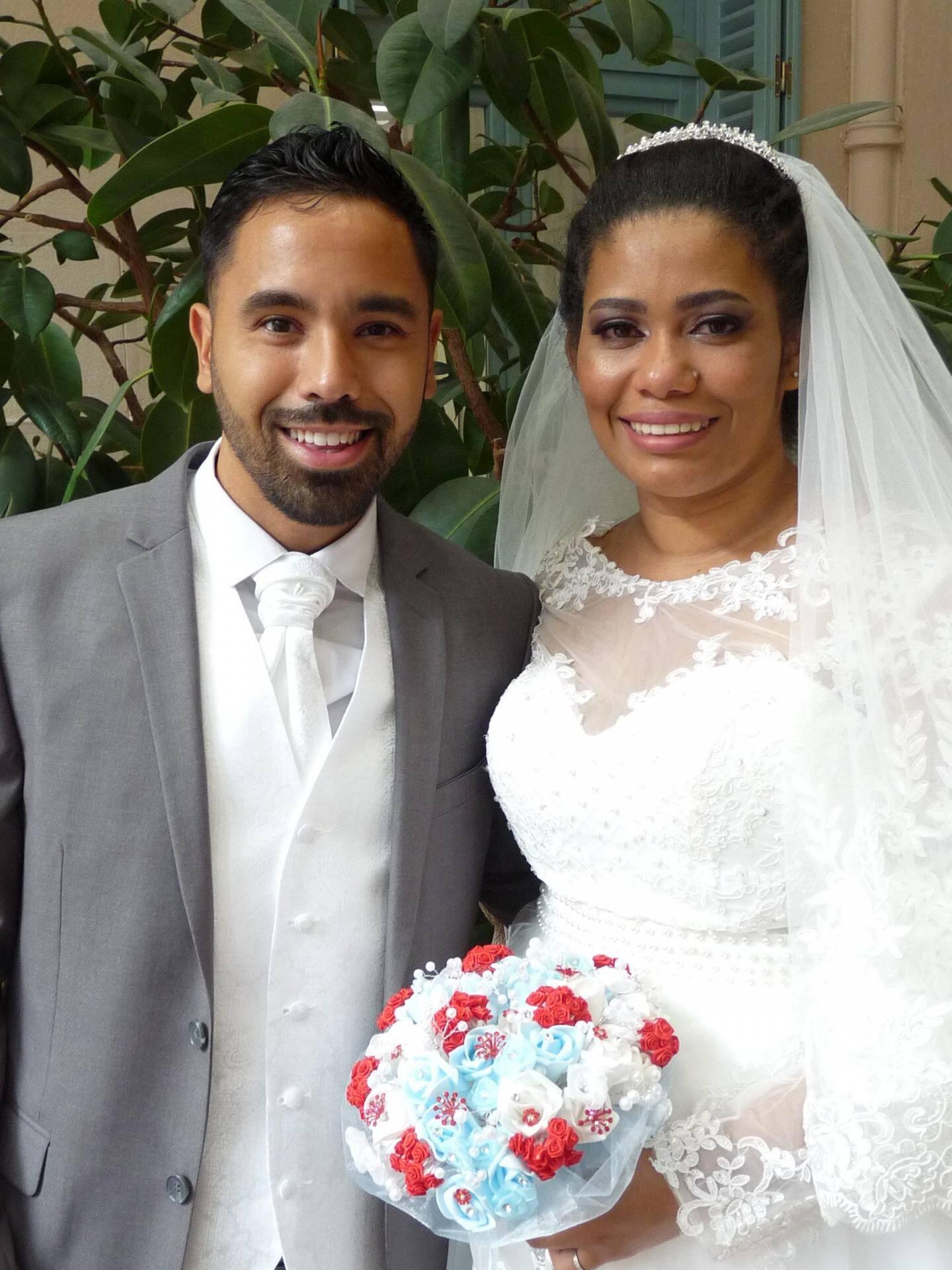 Anthony Bez, réceptionniste, et Ana Alves Dos Santos, esthéticienne.