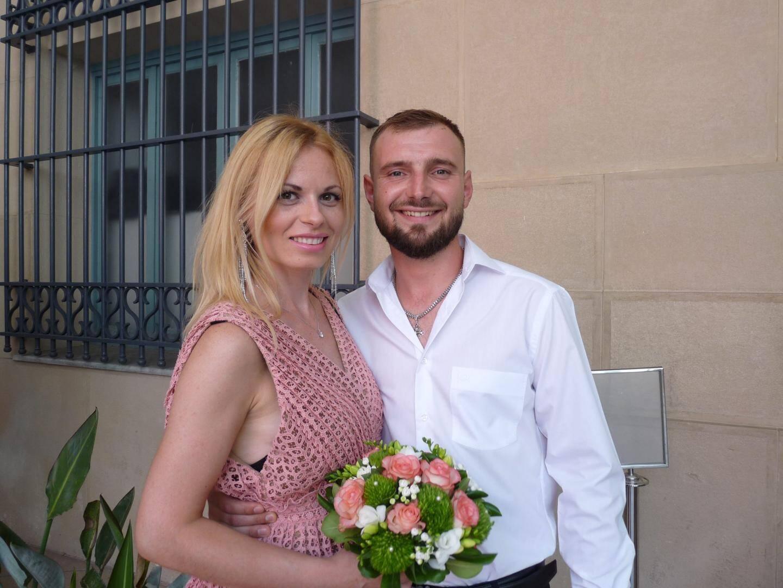 Catalina Baranovschi musicienne et Mihai Botnari, ingénieur.