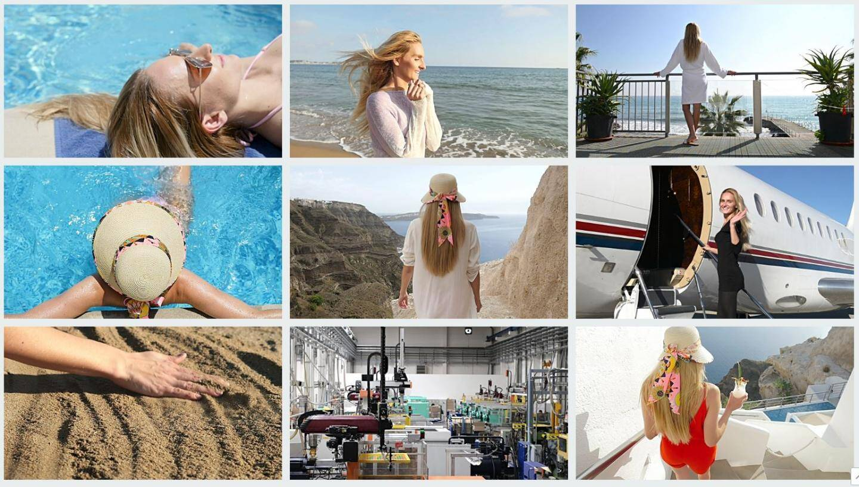 Plusieurs dizaines de vidéos mettant en scène la même mannequin sont disponibles dans la galerie iStock du gérant de Tuto-Photos.com.