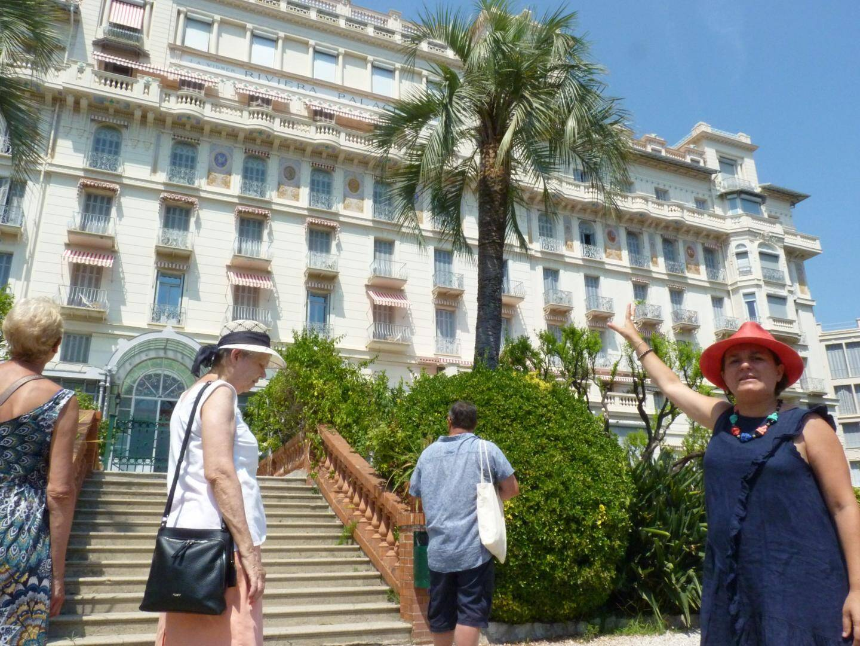 L'histoire du Riviera Palace de Menton racontée par une conférencière