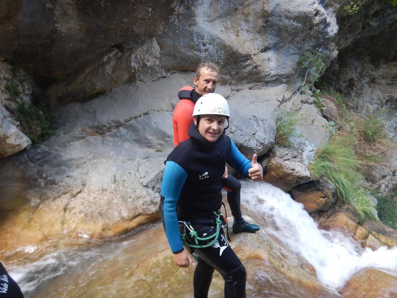 Pour résumer : une journée test grandeur nature, des sauts uniques, encadrés par un guide de qualité.