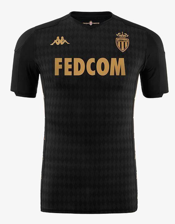 Le maillot extérieur de l'ASM pour la saison 2019-2020.