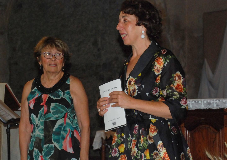 Pierelyne Devèze et Marie Noëlle Simone.